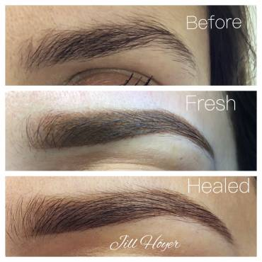 Ombre Brows-  A Natural Permanent Makeup Technique